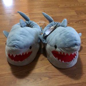 Shark slippers! BNWT